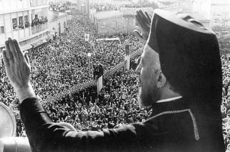 40 χρόνια από την κοίμηση του Αρχιεπισκόπου Κύπρου Μακαρίου (ΦΩΤΟ)