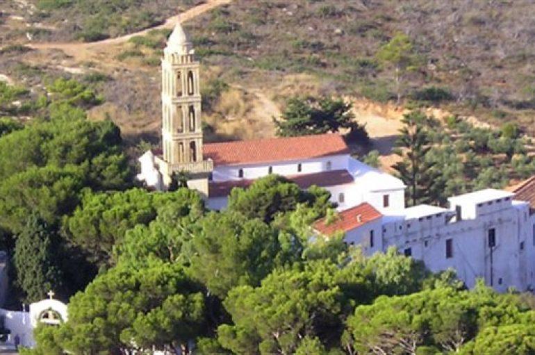 Εκκενώθηκε η Ι. Μονή Παναγίας Μυρτιδιωτίσσης Κυθήρων