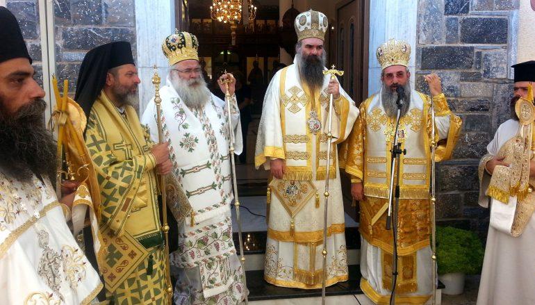 Η εορτή του Αγίου Αθανασίου του Πατελάρου στον Αξό Μυλοποτάμου (ΦΩΤΟ)