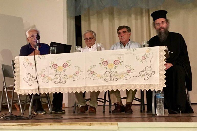 Παρουσιάστηκε στις Μηλιές το νέο βιβλίο του π. Θεμιστοκλή Μουρτζανού (ΦΩΤΟ)