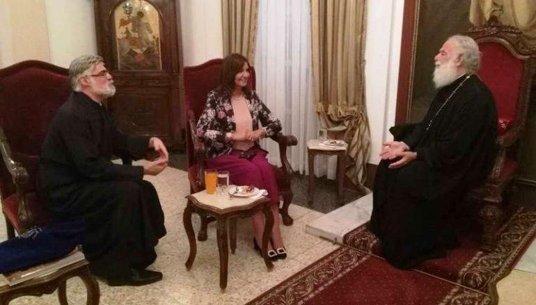 Στον Πατριάρχη Αλεξανδρείας η Υπουργός Μετανάστευσης της Αιγύπτου