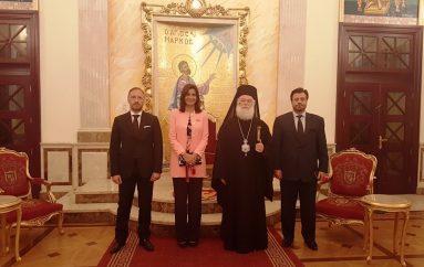 Η Υπουργός Μεταναστευτικής Πολιτικής Αιγύπτου στον Πατριάρχη Αλεξανδρείας