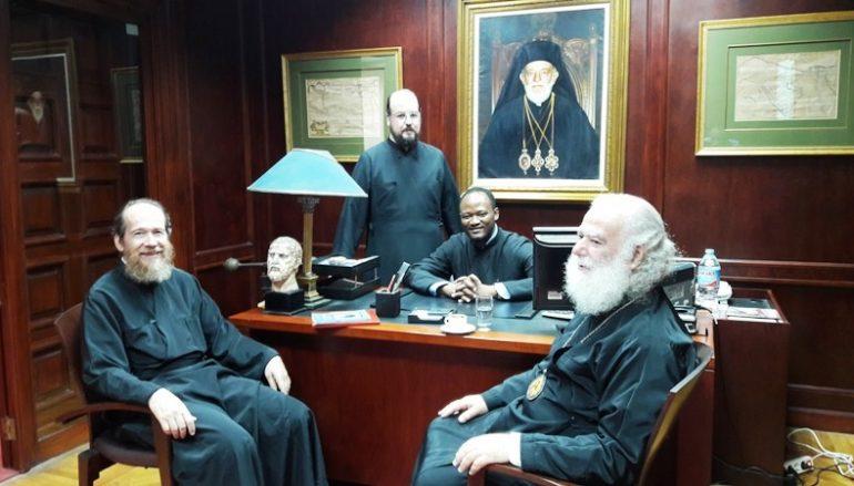Νέο στέλεχος στο Πατριαρχείο Αλεξανδρείας (ΦΩΤΟ)