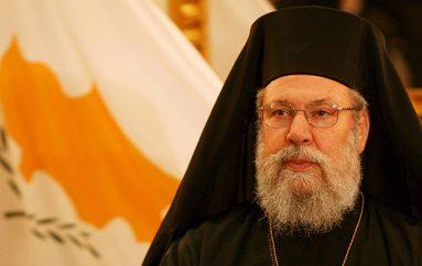 Σκληρή στάση για το Κυπριακό ζητάει ο Αρχιεπίσκοπος Κύπρου