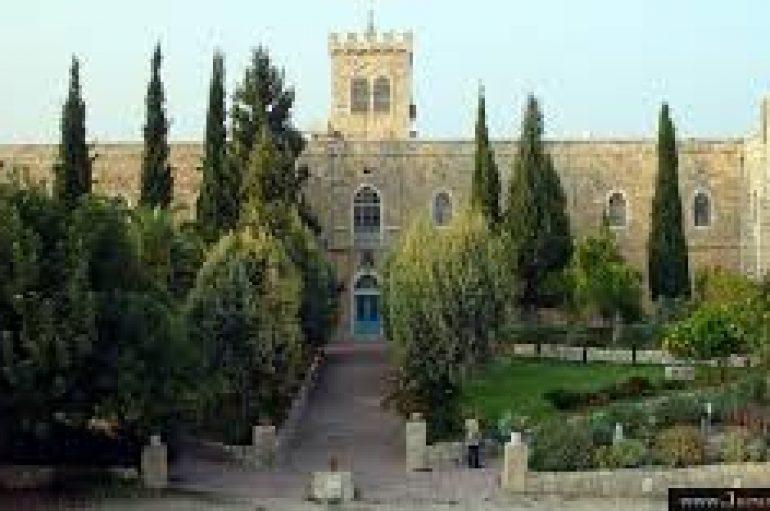 Άγνωστοι βανδάλισαν το Λατινικό Μοναστήρι Beit Jimal