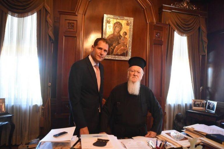 Νέος Δ/ντης Επικοινωνίας του Οικ. Πατριαρχείου ο ιδιοκτήτης του Amen.gr