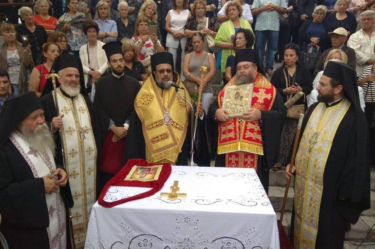 Η Μεσσήνη ξεπροβόδισε την Παναγία Βουλκανιώτισσα (ΦΩΤΟ)