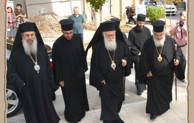 Ο Αρχιεπίσκοπος Αλβανίας Αναστάσιος στην Πρέβεζα (ΦΩΤΟ)