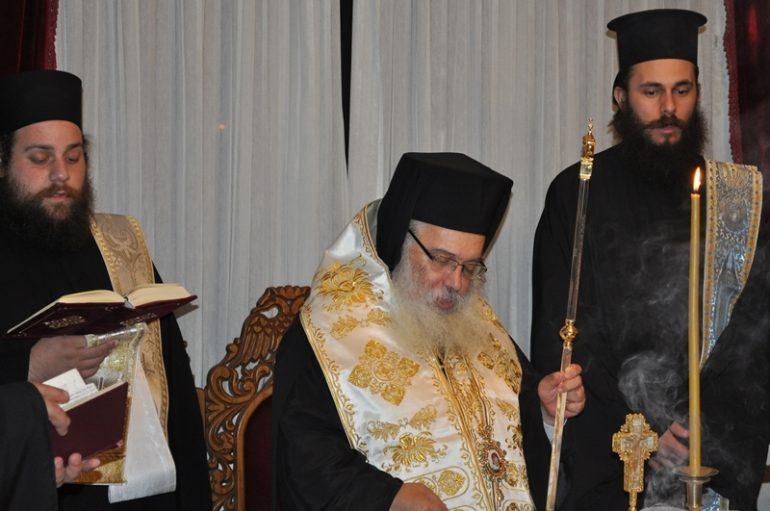Αγιασμός στη Σχολή Βυζαντινής Μουσικής της Ι. Μ. Εδέσσης