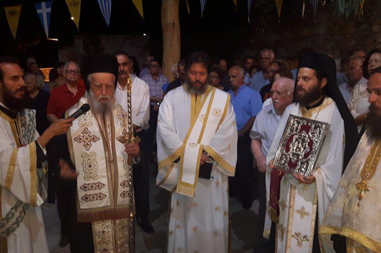 Η εορτή του Γενεθλίου της Θεοτόκου στο Παρθένι Αλιβερίου (ΦΩΤΟ)