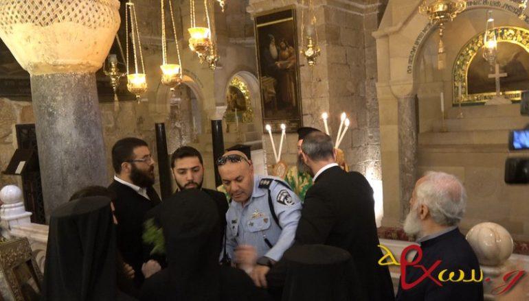 Αρμένιοι παρακωλύουν Λιτανεία του Τιμίου Σταυρού στα Ιεροσόλυμα