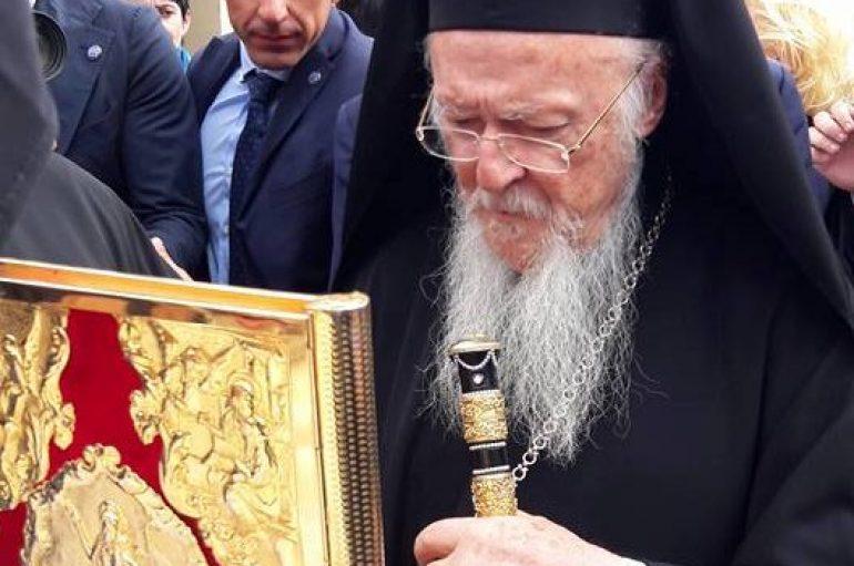 Ο Οικουμενικός Πατριάρχης στην Ι. Μονή Βλατάδων (ΦΩΤΟ)