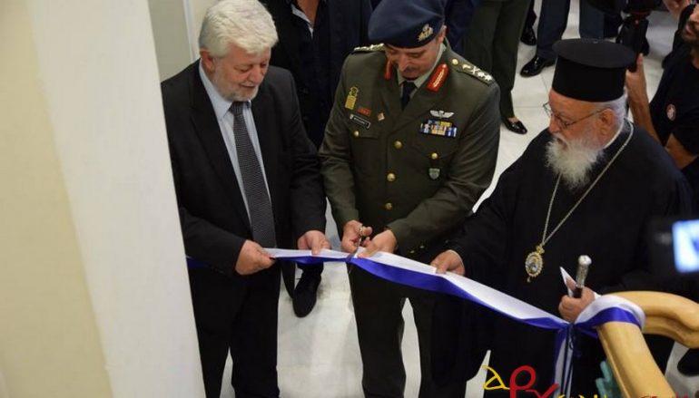 Ο Μητροπολίτης Μαντινείας εγκαινίασε έκθεση του Πολεμικού Μουσείου (ΦΩΤΟ)