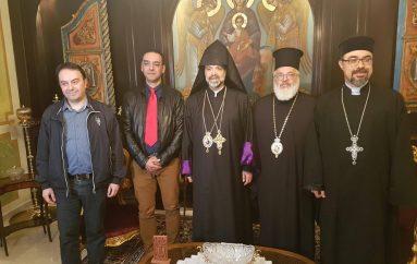 Επίσκεψη Αρμένιου Επισκόπου στον Μητροπολίτη Διδυμοτείχου (ΦΩΤΟ)