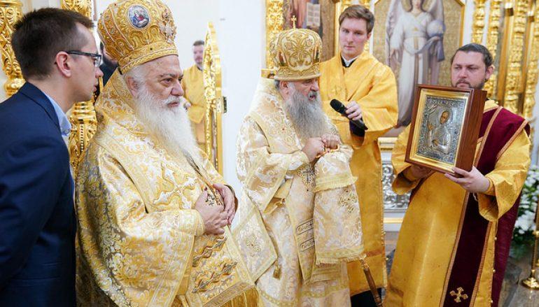 Εγκαίνια Ναού του Αγίου Ανδρέα στην Αγία Πετρούπολη (ΦΩΤΟ)