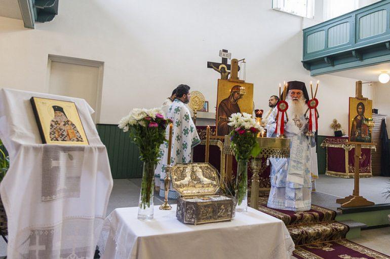 Αργολίδος Νεκτάριος: «Η καρδιά του Αγίου Λουκά χτυπάει στην Ολλανδία» (ΦΩΤΟ)