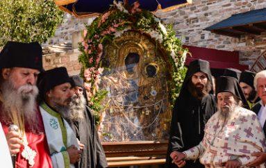 Άρθρο του Ηγουμένου της Ι. Μ. Δοχειαρίου για τη Συριζαία που πέταξε την εικόνα της Παναγίας