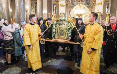 Με τιμές αρχηγού κράτους η Παναγία Σουμελά στην Αγία Πετρούπολη (ΒΙΝΤΕΟ)