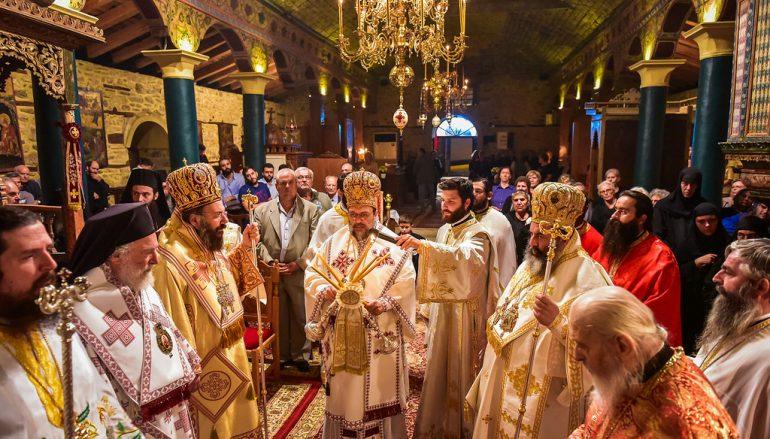 Πολυαρχιερατική Αγρυπνία για την Αγία Κυράννα στην Ι. Μ. Λαγκαδά (ΦΩΤΟ)