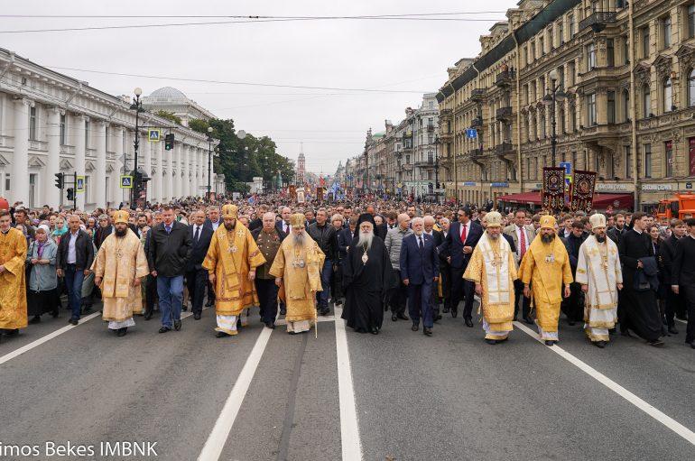 Η εικόνα της Παναγίας Σουμελά  στην Αγία Πετρούπολη (ΦΩΤΟ)