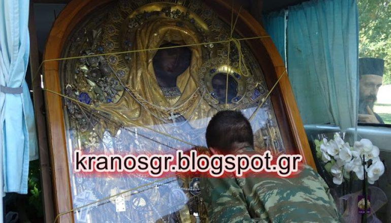 Στους καταδρομείς της Ρεντίνας η θαυματουργή εικόνα της Παναγίας Γοργοϋπηκόου