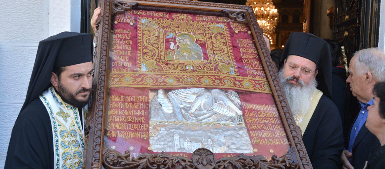 Η Τρίπολη ξεπροβόδισε την Παναγία του Κύκκου (ΦΩΤΟ)