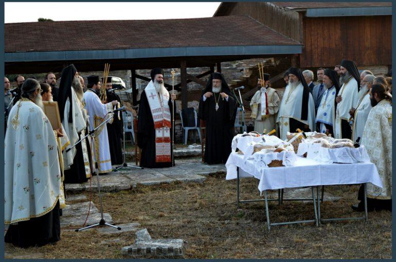Η εορτή του Αγ. Ιερομάρτυρος Αλκίσωνος στην Ι. Μ. Πρεβέζης (ΦΩΤΟ)