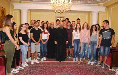 Ο Μητροπολίτης Θεσσαλιώτιδος συνάντησε τους επιτυχόντες των πανελληνίων