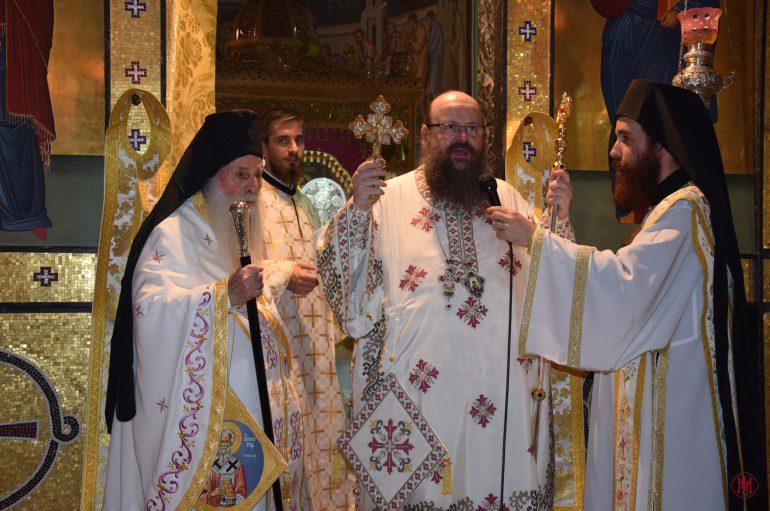 Η εορτή του Αγίου Ανθίμου στην Ι. Μητρόπολη Μεγάρων (ΦΩΤΟ)