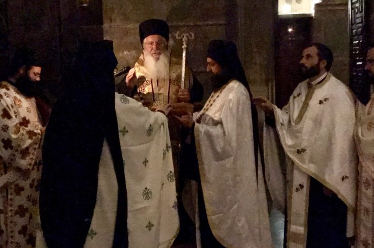Εορτή του Οσίου Χαρίτωνος στην Ιερά Μονή του Οσίου Λουκά (ΦΩΤΟ)