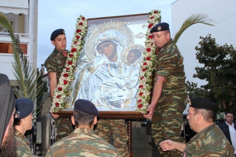 Την Παναγία Παραμυθία υποδέχθηκε η Ορεστιάδα (ΦΩΤΟ)