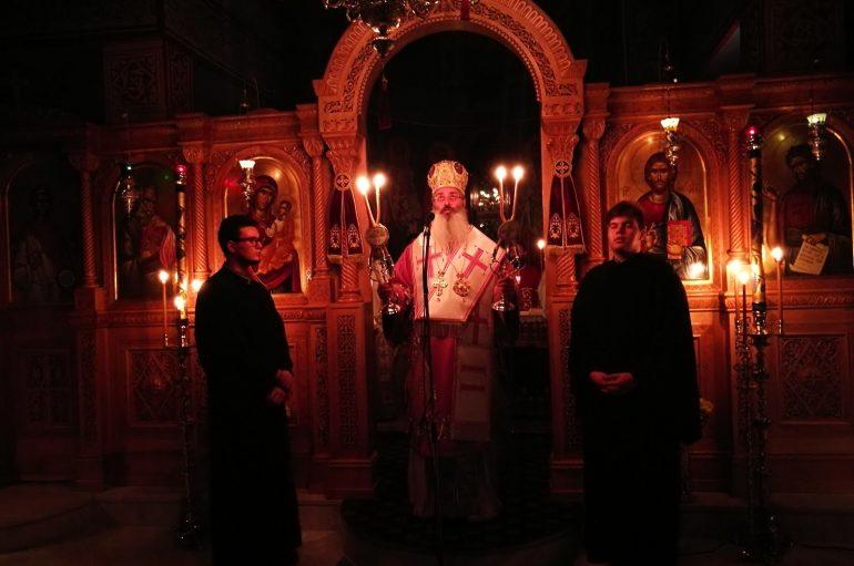 Ιερά Αγρυπνία στην Ι. Μονή Αγίου Ιωάννου του Θεολόγου Αετοχωρίου (ΦΩΤΟ)