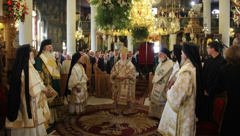 Πατριαρχική Θεία Λειτουργία στην Ορεστιάδα (ΦΩΤΟ)