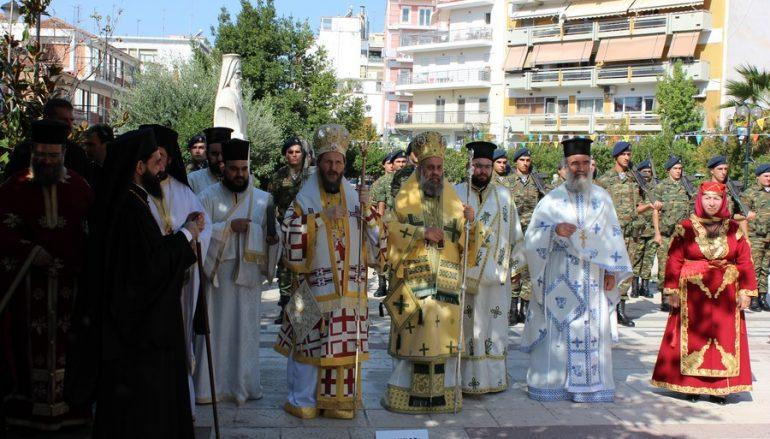 Δισαρχιερατική Θ. Λειτουργία για τη Σύναξη των τοπικών Αγίων της Θεσσαλιώτιδος