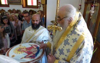 Η Κατάθεση της Τιμίας Ζώνης στην Ι. Μονή Φανερωμένης Καστορίας (ΦΩΤΟ)