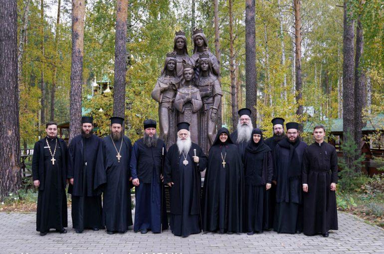 Αρχιερατικό Συλλείτουργο στην Ι. Μονή Νεομαρτύρων στην Ρωσία (ΦΩΤΟ)