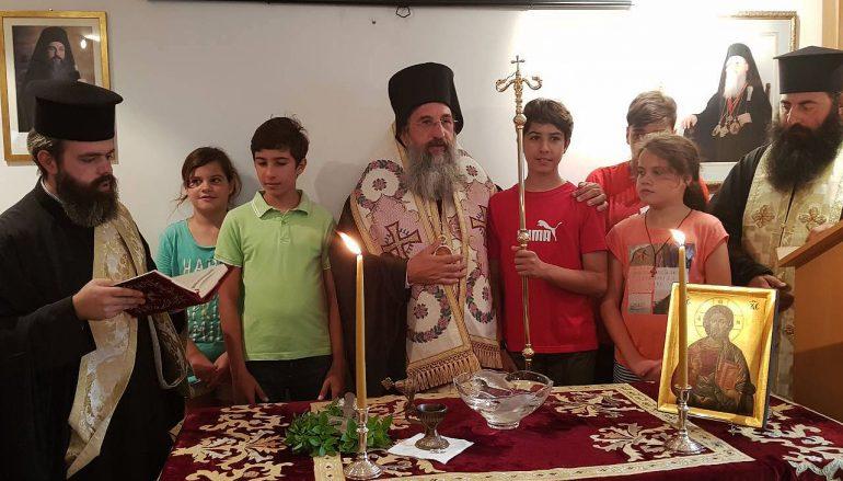 Αγιασμός στην Σχολή Βυζαντινής Μουσικής της Ι. Μ. Ρεθύμνης (ΦΩΤΟ)