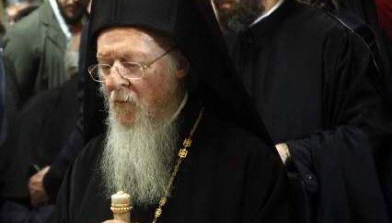 Ο Οικουμενικός Πατριάρχης Βαρθολομαίος αναχώρησε για την Ιταλία