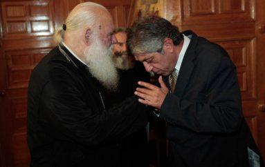 Συνάντηση Αρχιεπισκόπου με τους Πρέσβεις Παλαιστίνης και Καζακστάν (ΦΩΤΟ)
