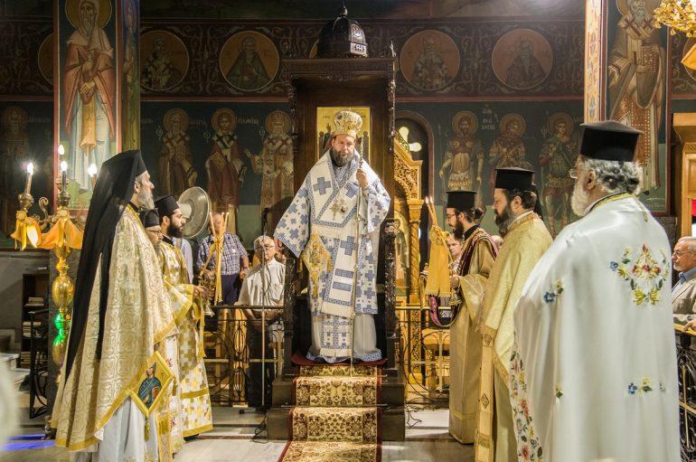 Η εορτή της Αγίας Ευφημίας στη Νέα Χαλκηδόνα (ΦΩΤΟ)