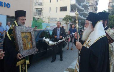 Στο Βόλο τεμάχιο του Σταυρού του Κυρίου από τα Ιεροσόλυμα (ΦΩΤΟ)