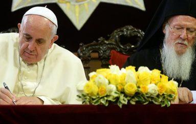 Κοινό Μήνυμα Πάπα και Οικουμενικού Πατριάρχη για το περιβάλλον