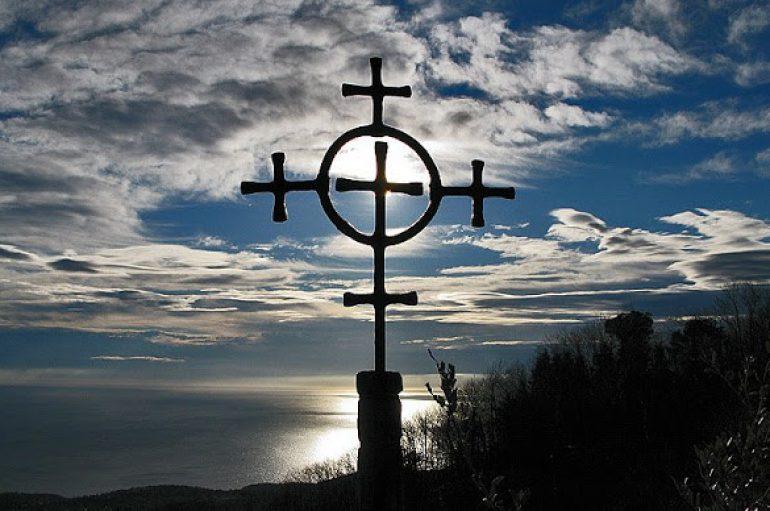 «Και καθώς Μωυσής ύψωσε τον όφιν εν τη ερήμω, ούτως υψωθήναι δει τον υιόν του ανθρώπου»