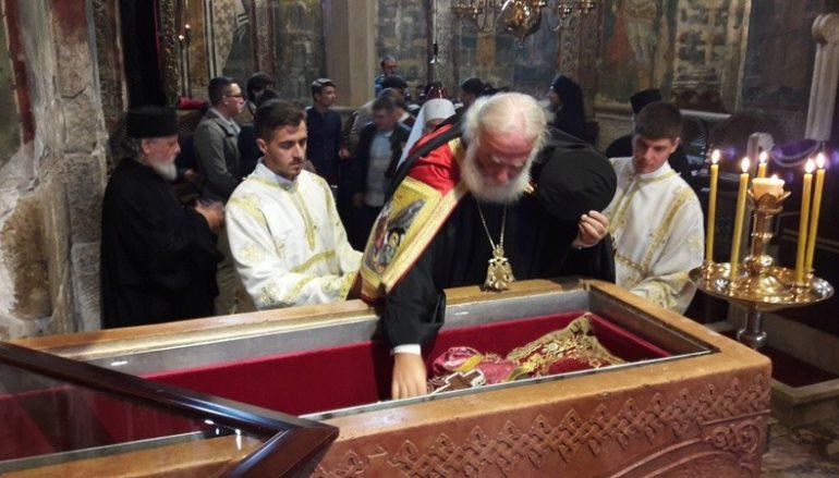 Ο Αλεξανδρινός Προκαθήμενος στο μαρτυρικό Κοσσυφοπέδιο (ΦΩΤΟ)