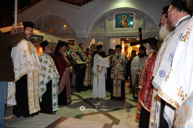 Αρχιερατικός Εσπερινός στον Ι. Ναό Αγίου Δημητρίου Τρίπολης (ΦΩΤΟ)