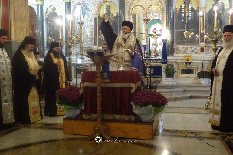 Αγιασμός για την έναρξη του πνευματικού έργου της Ι. Μ. Μαντινείας (ΦΩΤΟ)