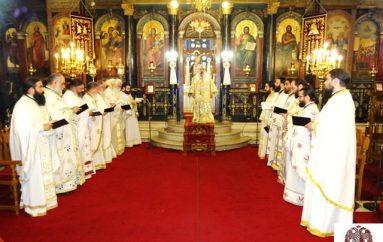Η Θεία Λειτουργία του Αγ. Ιακώβου του Αδελφοθέου στην Ι. Μ. Σπάρτης (ΦΩΤΟ)