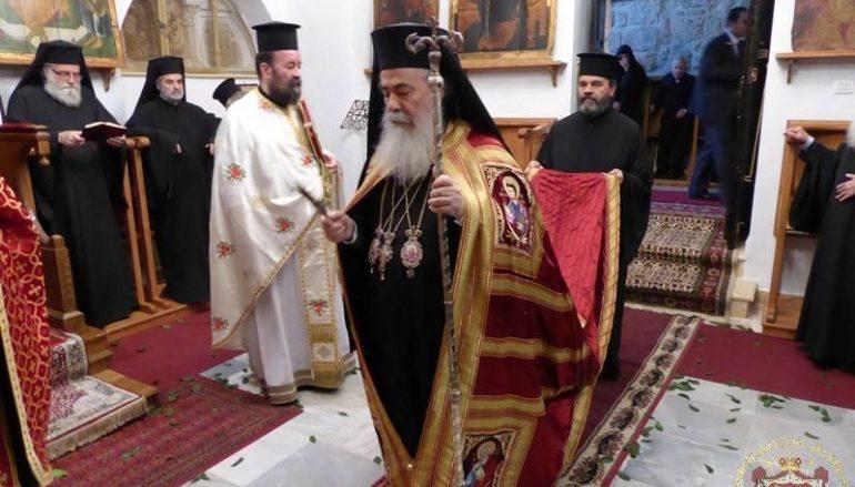 Η εορτή της Αγίας Θέκλης στο Πατριαρχείο Ιεροσολύμων (ΦΩΤΟ)