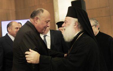 Συνάντηση του Πατριάρχη Αλεξανδρείας με τον Υπ. Εξωτερικών της Αιγύπτου