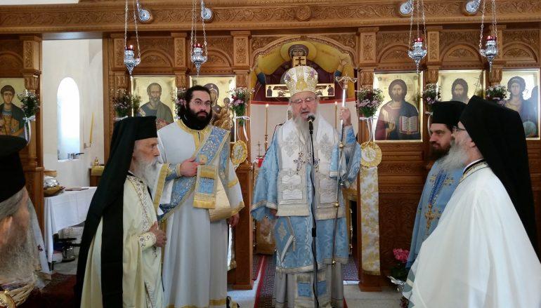 Ο Μητροπολίτης Αιτωλίας εγκαινίασε Ιερό Ναό στον Αβαρίκο Τριχωνίδος (ΦΩΤΟ)